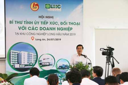 Actively remove difficulties for enterprises in Long Hau Industrial Park